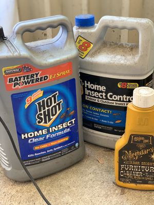 Insect killer and other miscellaneous items for Sale in San Diego, CA
