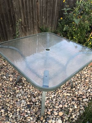 Patio table for Sale in Denver, CO