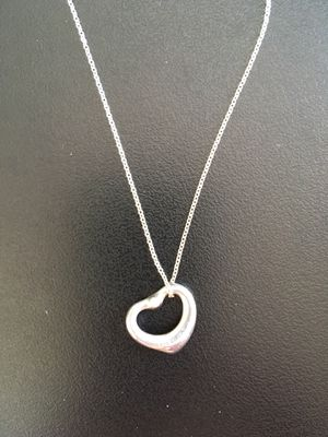 Tiffany & Co. Heart Diamond Necklace for Sale in Edgewater, NJ