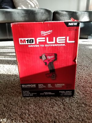 """Milwaukee M18 Fuel Brushless Variable Speed SURGE 1/4"""" Hex Impact Driver NEW for Sale in Saint Paul, MN"""