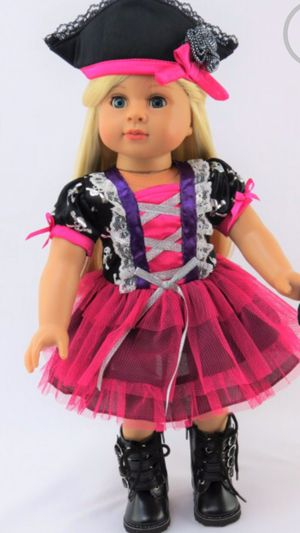 Halloween dress for 18 doll or American girl for Sale in Dublin, CA