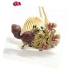 Betsey Johnson 3 D Squirrel Brooch Necklace On18 Inch Chain for Sale in Macedonia,  OH
