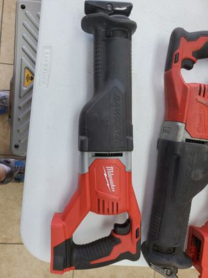Milwaukee m18 saw zaw like new 70$!!! for Sale in Fort Worth, TX