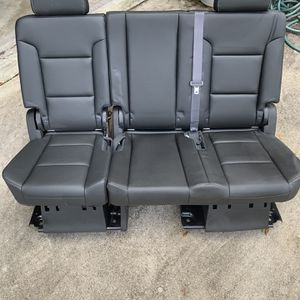 2018 - Tahoe seats - Fits 2007-2019 - Yukon - Escalade Jet Black for Sale in Pompano Beach, FL