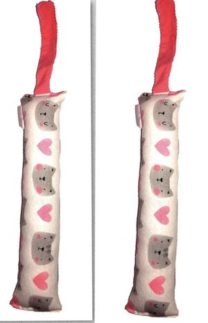 Kitty kicker cat faces grey 11 inches long 2pk cat toys for Sale in Lancaster, PA