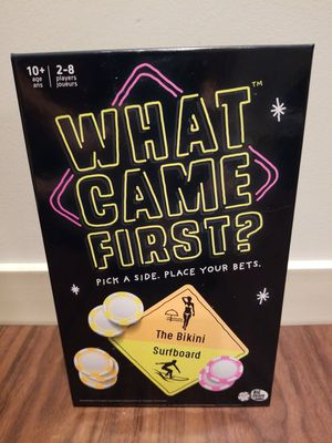 What Came First Game? Game About Picking Sides and Betting Big! for Sale in Pittsburgh, PA