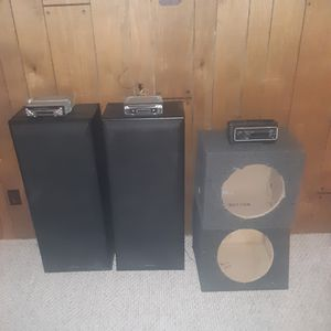 Car and home stereo for Sale in Evansville, IN
