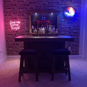 Bar Set with neon signs for Sale in Monrovia, MD