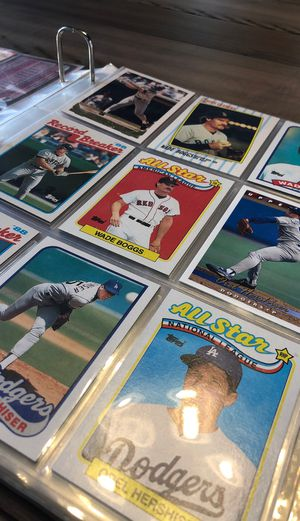 Baseball Card Collection or Trade Cards for Sale in Westminster, CO