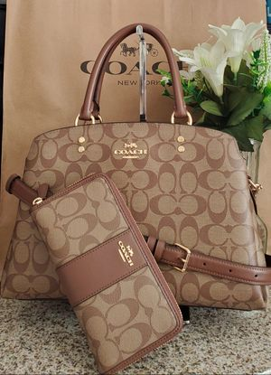 Coach purse and large wallet set for Sale in Temecula, CA