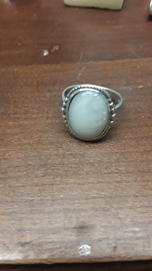sterling & onyx ring size 6 for Sale in Madison, VA