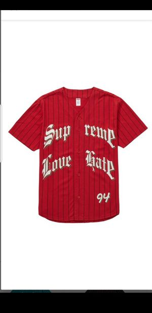 Supreme baseball jersey Size L sold out for Sale in Chicago, IL