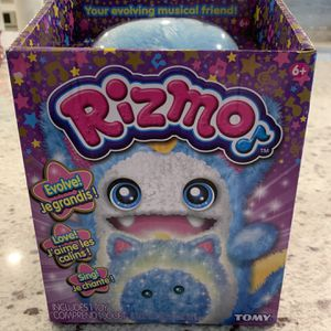 New Rizmo Evolving Musical Friend Interactive Plush Toy with Fun Games, Aqua for Sale in Las Vegas, NV