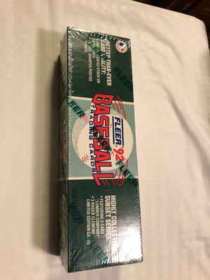 Fleer 1992 Baseball Card Full Set 720/9/3 Sealed for Sale in Sudley Springs, VA
