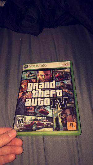 Xbox 360, grand theft auto IV for Sale in Nashville, TN