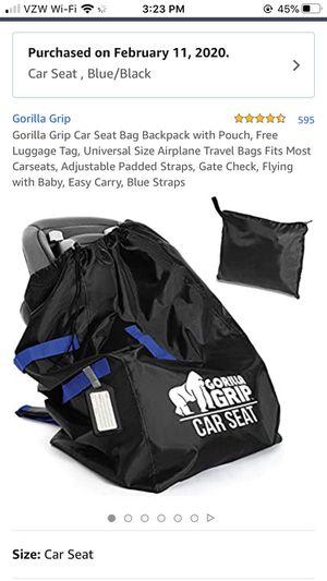 Gorilla grip car seat bag for Sale in Colchester, VT