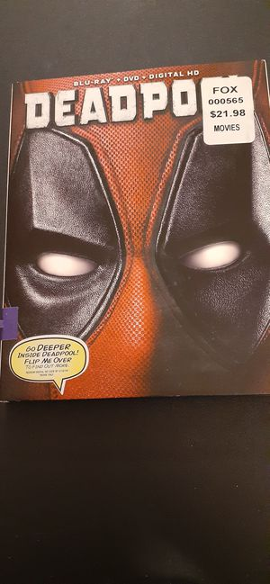 Marvel DEADPOOL (Blu-Ray + DVD) for Sale in Lewisville, TX