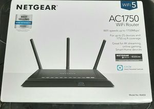 BRAND NEW NETGEAR ROUTER AC1750. NEVER USED!! for Sale in San Diego, CA