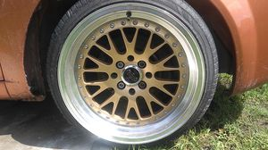 Versante alloys 16×8 rims plus 2 spacers 100 for Sale in Kissimmee, FL