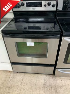 🌟🌟Delivery Available Electric Stove Oven Whirlpool Stainless Steel #923🌟🌟 for Sale in Orlando, FL