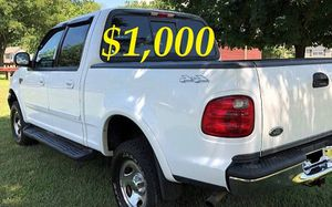 🎁$1,OOO URGENT For sale 2002 Ford F150 XLT 4X4, V8 runs and drives excellent. 87K Miles.🎁 for Sale in Pittsburgh, PA