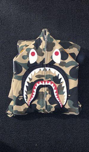 Bape 1st camo shark full zip hoodie for Sale in Denver, CO