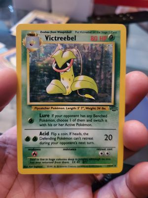 Pokemon Card Victreebel Holo Near Mint Condition for Sale in Houston, TX