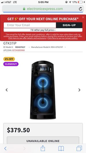 Portable Party System for Sale in San Antonio, TX