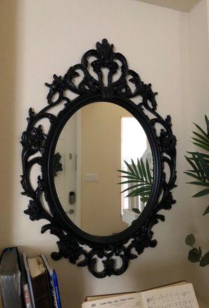 Large black decorative wall mirror for Sale in Miami, FL