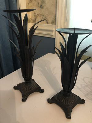 Iron candle holders for Sale in Durham, NC