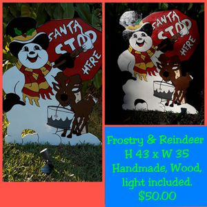FROSTY & REINDEER STOP HERE SANTA for Sale in LXHTCHEE GRVS, FL