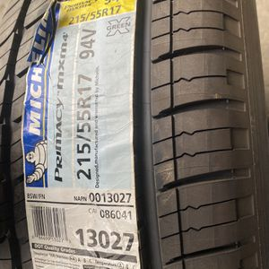 Michelin Tire 215/55R17 for Sale in Soledad, CA