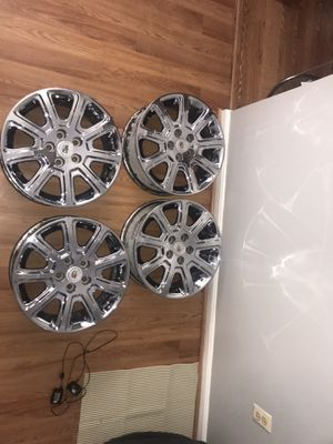 DTS chrome dipped rims 18inch for Sale in Baltimore, MD