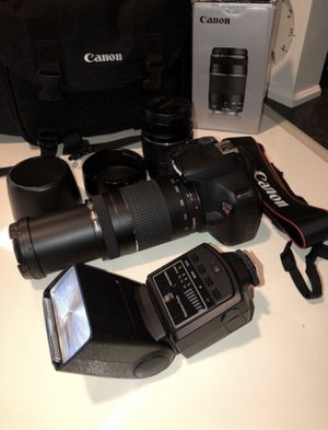 Canon T5 Package Deal for Sale in Houston, TX