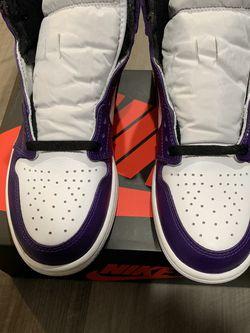 Jordan 1 Court Purple 2.0 Size 9 for Sale in Rockville,  MD