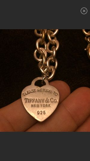 Authentic Tiffany & Co. Sterling Silver Necklace for Sale in West Haven, CT