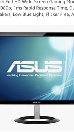 "Asus vx238h 23"" gaming monitor for Sale in Moorpark,  CA"