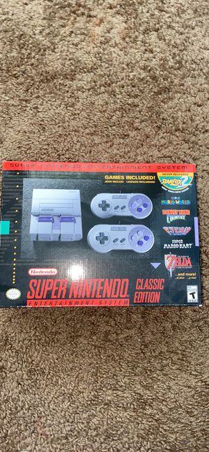 Nintendo classic edition for Sale in Hayward, CA