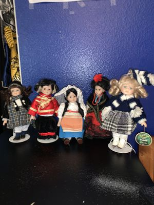 Set of 17 antique dolls for Sale in San Diego, CA