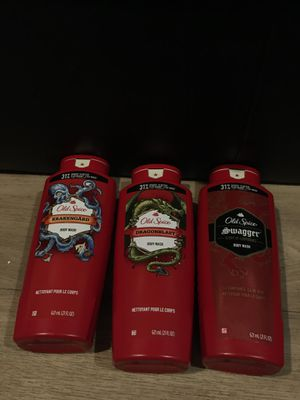 3 bottles of old spice body wash for $12 for Sale in Hayward, CA