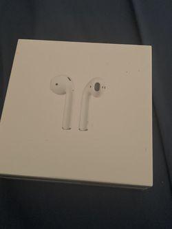 Wireless Apple Airpod Headphones, Mint Condition Heavy Duty, White,Still Encased In Plastic Wrap (flexible on price) for Sale in Long Beach,  CA