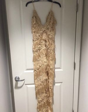 Rihanna inspired Fringe Jumpsuit Size M for Sale in Silver Spring, MD