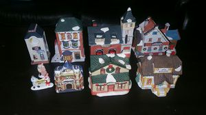 Christmas village collection for Sale in Silver Spring, MD