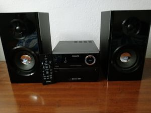 Philips Bluetooth Stereo System for Sale in Portsmouth, VA