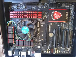 Msi gaming. Gratis card . fan for Sale in Las Vegas, NV