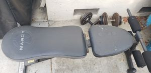 Workout bench and dumbbells for Sale in Sunnyvale, CA