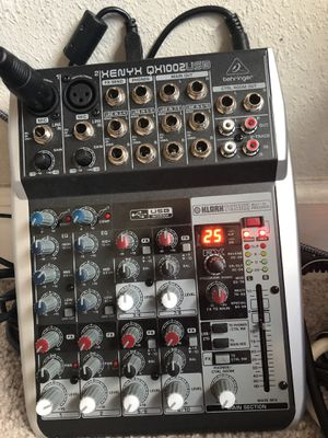 Xenyx QX1002USB Mixer for Microphones for Sale in Wesley Chapel, FL