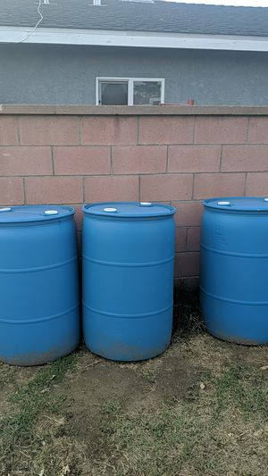 (3) 55 gallon liquid containers for Sale in Downey, CA