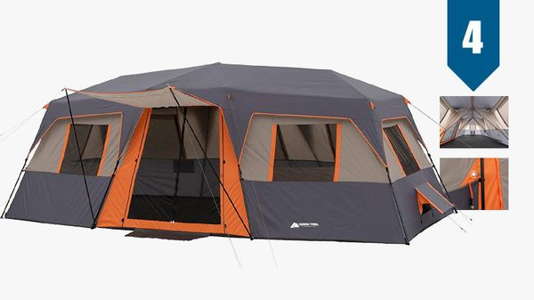 Instant 12 person large cabin tent 20 x 10 dimensions for camping