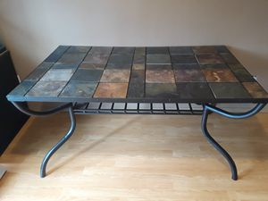 Slate/Tile Dining Table for Sale in Tacoma, WA